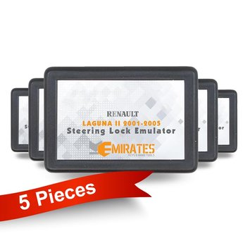 5 Pieces Of Renault Steering Lock Emulator For Laguna 2 2001-2...
