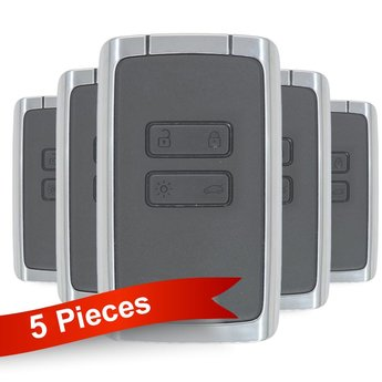 5 Pieces Of Renault Megane4 Talisman Espace5 Smart Card Key 4...
