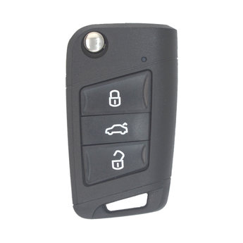 VW Remote Key 3 Buttons 433MHz MQB Transponder