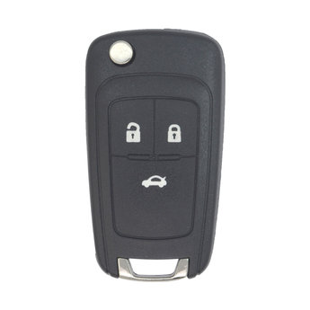Chevrolet Flip Smart Remote Key 3 Buttons 433Mhz PCF7952E Transponder...
