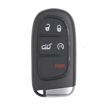 Chrysler Jeep Dodge Smart Key Shell 4+1 Buttons SUV Trunk Type...