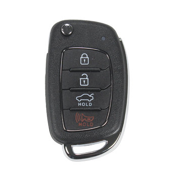 Hyundai Sonata 2018 Genuine Flip Remote Key 4 Button 433MHz 9543...