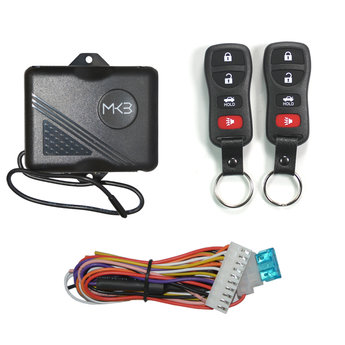 Keyless Entry System Nissan Tida 3+1 Button Model NK332