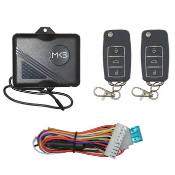 Keyless Entry System VW Chrome 3 Buttons Model VW169