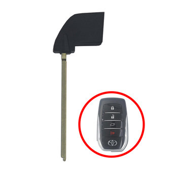 Toyota Smart Remote Key Blade Hilux 2016