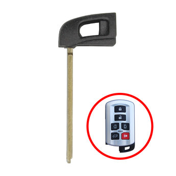 Toyota Sienna Emergency Smart Remote Key Blade