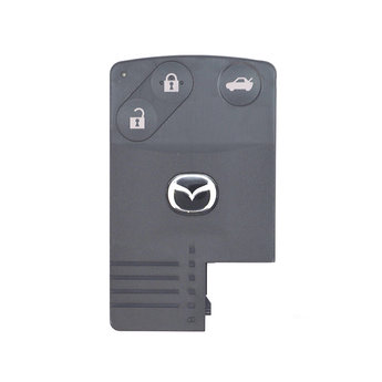 Mazda 3 2009 3 Buttons Smart Remote Card 433MHz BRYH-67-5RYB