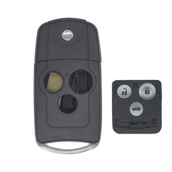 Honda Accord 3 buttons Flip Remote Key Cover
