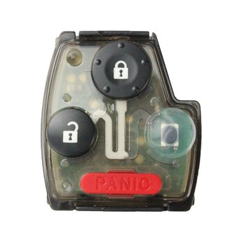 Honda 3 buttons Remote with Panic 433MHz
