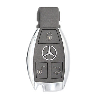 Mercedes BGA Genuine 3 Buttons 433MHz Remote Chrome Pair Of 2...
