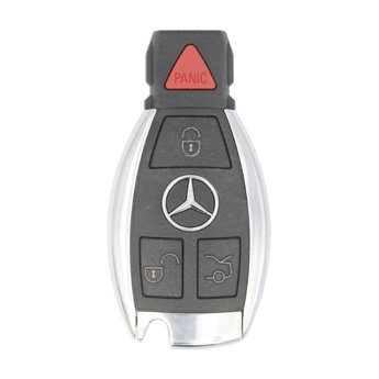 Mercedes BGA 212 Genuine 4 Buttons 315MHz Chrome Remote Key