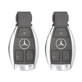 2 Pieces Of Mercedes 222 BGA Original 3 Buttons 433MHz Remote...