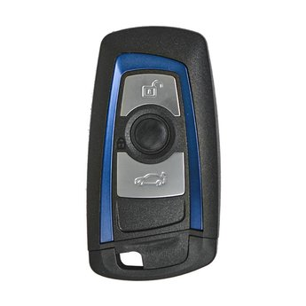 BMW CAS4 Remote Shell 3 Buttons Blue Color