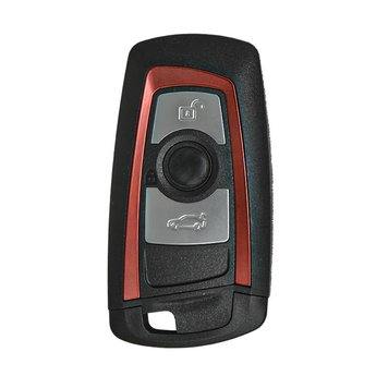 BMW CAS4 Remote Shell 3 Buttons Red Color