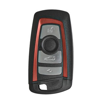 BMW CAS4 Remote Shell 4 Buttons Red Color
