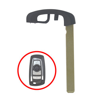 BMW CAS4 HU100R Smart Remote Key Blade Black Color