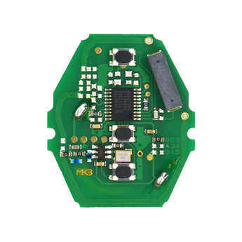 BMW CAS2 3 Buttons 868MHz Remote Key PCB