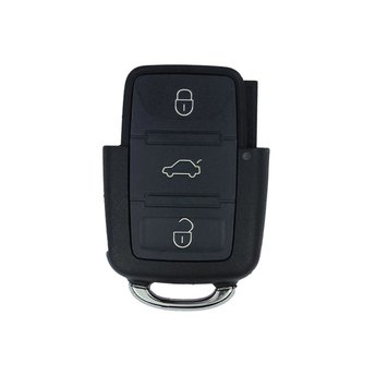 VW Genuine 3 Buttons 433MHz Remote Key N Type
