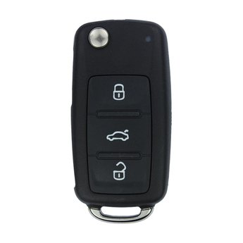 VW AB UDS Genuine 3 Buttons 433MHz Flip Remote