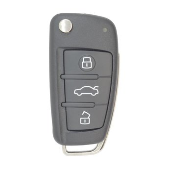 Audi Q7 Genuine 3 buttons 315MHz Flip Keyless Go Remote Key 4F...