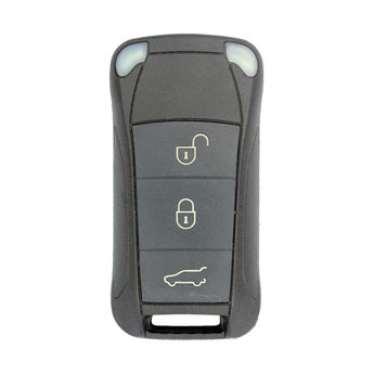 Porsche 3 Buttons Flip Remote Key Cover