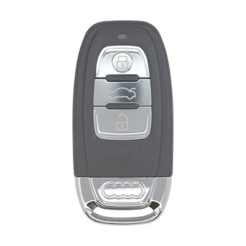 Audi  3 Buttons Smart Remote Key Cover With Blade