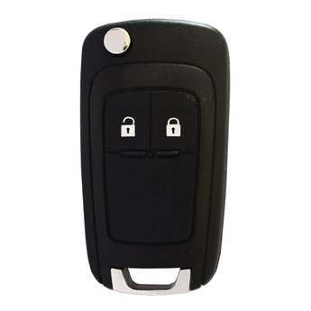 Opel Corsa J 2 Buttons Flip Remote Key Cover