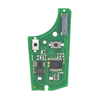 Opel Corsa D Meriva 2 Buttons 433MHz Remote Key PCB Chip