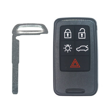 Volvo 5 buttons Smart Remote Key Cover