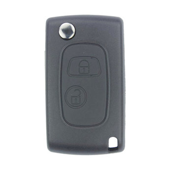 Peugeot 206 2 Buttons Flip Remote Key Cover