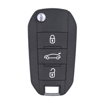 Citroen Flip Remote Key 3 Buttons 433MHz AES Transponder with...