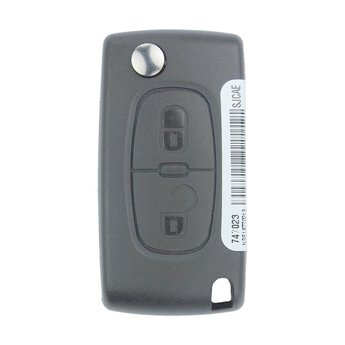 Peugeot 308 2 Buttons Genuine Flip Remote Key