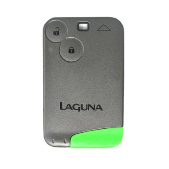 Renault Laguna2 2 Buttons 433MHz Key Card ID47 Chip High Quality...