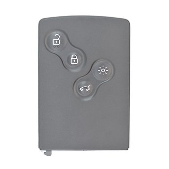 Renault Clio4 4 Buttons Genuine Smart Key Card Hitag AES Chip...