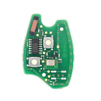 Renault Original Remote Key PCB 2 button 433MHz PCF7947 Transponder...