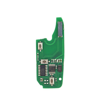 Fiat Fiorino 3 Buttons 433MHz Flip Remote Key PCB Chip