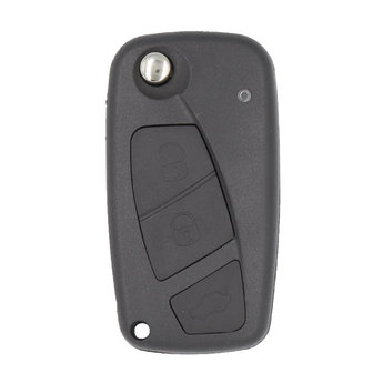 Fiat Panda Flip Remote Key Fob 3 Buttons 433MHz PCF7941A