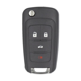 Chevrolet Flip Smart Remote Key 5 Buttons 315Mhz FCC ID: OHT...