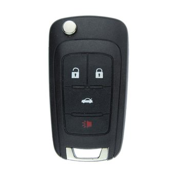 Chevrolet 4 Button Flip Remote Key PCF7937E/41E Transponder