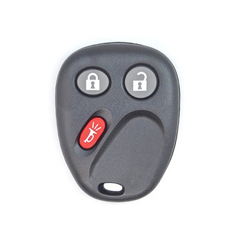 GMC Blaizer 3 Buttons Remote Key Cover Medal Wıthout Battery ...