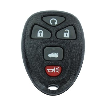 GMC Chevrolet 5 buttons Remote Key Cover