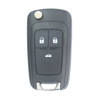 Chevrolet Cruze 3 Buttons Flip Remote Key Cover