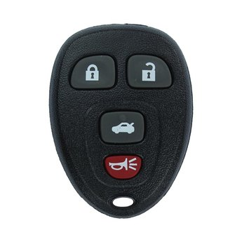 GMC Chevrolet 2008 4 buttons Remote Key Cover Sedan Trunk Type...