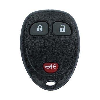 Chevrolet GMC 2008 3 Buttons Remote Key Cover