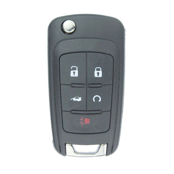 Chevrolet Camaro 5 buttons Flip Remote Key Cover