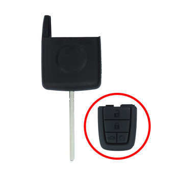 Chevrolet Caprice Head Part  For Remote Key HU43 Blade