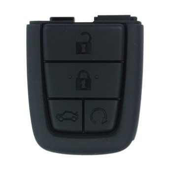 Chevrolet Caprice Lumina 4 Buttons Genuine Rubber For Remote...