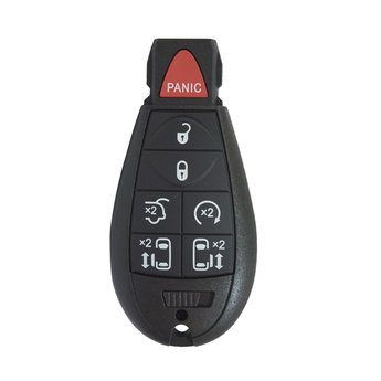 Chrysler Jeep Dodge 7 Buttons Fobik Remote Key Cover