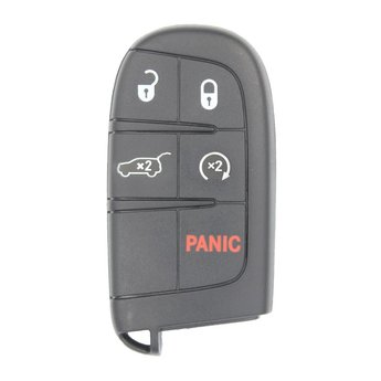 Dodge 5 Buttons 433MHz Original Smart Remote Key with SUV Trunk...