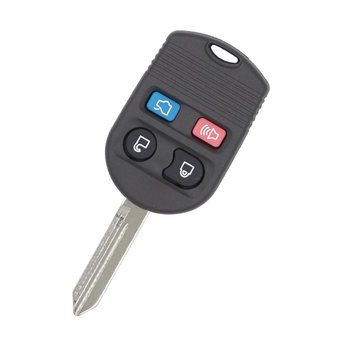 Ford Modified Non-Flip Remote Key Shell 4 Buttons